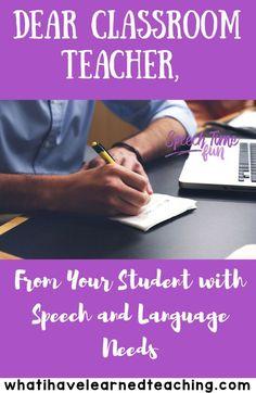 Dear Classroom Teach