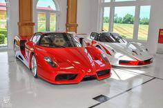Ferrari Blanco o Ferrari Rojo?
