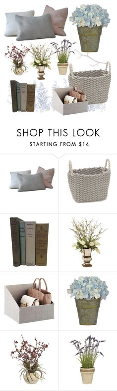 """""""Dawn Florals"""" by racheld725 ❤ liked on Polyvore featuring interior, interiors, interior design, home, home decor, interior decorating, John-Richard and springflorals"""