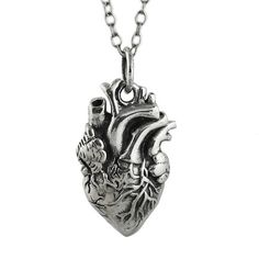 Heart Anatomical Necklace