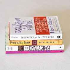 My Enneagram book collection. Small, but growing!⠀ 📚⠀ #enneagram #personalitytypes #igreads #instareads #bookstagram #goodreads #bestbooks #mybooks #goodbook #personalgrowth #bookstagramfeature #bookphotography #reading #books📚