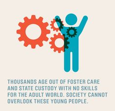 Teens who age out of foster care are often overlooked.