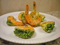 Kitchen Cactus: Cilantro and Jalapeño Stuffed Shrimp