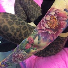 Gorgeous floral sleeve