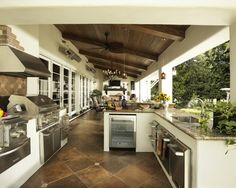 Covered Outdoor Kitchens | Make Sure Your Outdoor Kitchen is Complete for the Summer