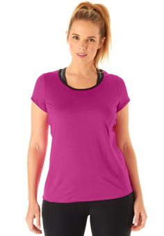 f24e2de11b Sport tee by fullbeauty SPORT - Women's Plus Size Clothing Athleisure  Outfits, Swimsuits For All