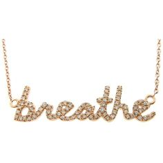 Sydney Evan Gold and Diamond 'breathe' Necklace at London Jewelers!