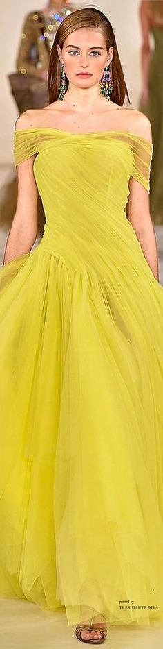 Ralph Lauren Spring 2015 Ready-to-Wear Fashion Show Style Couture, Couture Fashion, Runway Fashion, Latest Fashion, Fashion Week, Look Fashion, Fashion Show, Fashion Trends, Beautiful Gowns