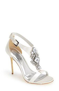 2fec6b897e582f Ted Baker London  Naiss  Crystal Embellished T-Strap Sandal (Women)