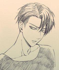 Credit to the talented original artist! Anime Drawings Sketches, Anime Sketch, Art Drawings, Anime Character Drawing, Manga Drawing, Anime Guys, Manga Anime, Anime Art, Anime Lindo