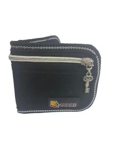 Winnie Pooh Boys Wallet, Case , Pocket , Bag    Made of Cloth \ Canvas  Medium Type with Key Shape Zipper  Color : Black  َQuantity : 1 pc.    Measurements   Width: 11 cm , 4.33 inch   Length :10 cm , 3.93 inch