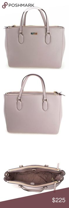 Kate Spade laurel way leighann Baby pink color, double zip. Hugh middle section. Crossbody, strap removable. Large bag. New, never worn. Ordered online. Beautiful!!! kate spade Bags Satchels