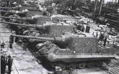 """Jagdtiger (""""Hunting Tiger"""") is the common name of a German heavy tank destroyer of World War II. The official German designation was Panzerjäger Tiger Ausf. B as it was based on a lengthened Tiger II chassis.:"""