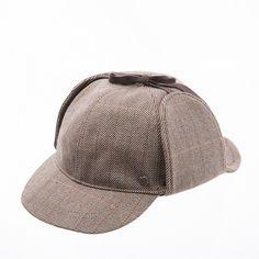 Sherlock Holmes cap www.omae.co/shop/brownhat