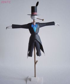Miyazaki Howl's Moving Castle Turnip-head Scarecrow 3D paper model