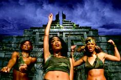 """In honor of the anniversary of their self-titled debut and the amazing video that came with it (for """"No, No, No""""), we ranked Destiny's Child's top 10 'TRL'-worthy clips. Top 10 Music Videos, Kids Music Videos, Farrah Franklin, Teen Pants, Michael Jackson Dance, Destiny's Child, Michelle Williams, Pop Culture Halloween Costume, Hip Hop Rap"""