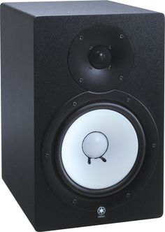 """Yamaha HS80M 8"""" Monitors. I had the baby version of these things and was really impressed at how reliable they were for mixing, (and how loud they could get :D)"""