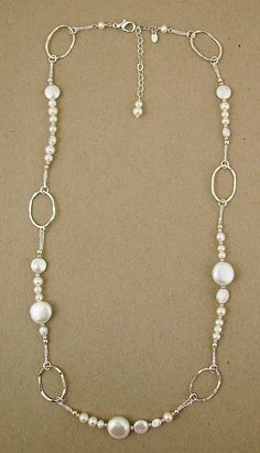 #necklace #pearl #pearls