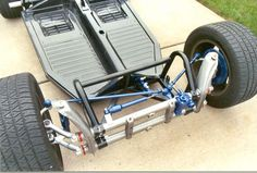 Front end of chassis