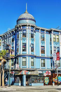 Beautiful Architecture In The Tenderloin, San Francisco By Mitchell Funk   mitchellfunk.com