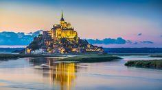 Mont Saint-Michel, la abadía que surge de las aguas