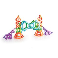 Guidecraft PowerClix® Organics are an open-ended magnetic construction toy! #guidecraft #STEMtoys #STEM #STEAM #powerclix