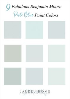 9 best pale blue paint colors
