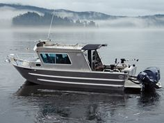 Swiftsure XW - Aluminum Cabin Boat by Silver Streak Boats Aluminum Fishing Boats, Aluminum Boat, Saltwater Fishing, Kayak Fishing, Alaska Fishing, Ice Fishing, Fishing Reels, Speed Boats, Power Boats