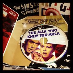 The Man Who Knew Too Much - Hitchcock Blu-ray set