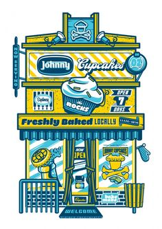 Travis Price for Johnny Cupcakes — The Jacky Winter Group