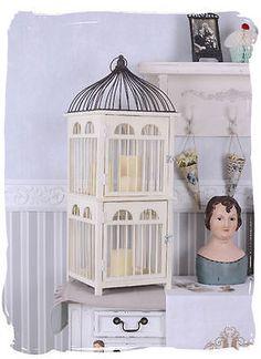 Voliera Gabbia Per Uccelli Shabby Chic Casa Degli Rustica Dekokaefig 83cm in Casa, arredamento e bricolage, Decorazione della casa, Altro decorazione della casa | eBay