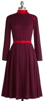 Bettie Page City Sailing Dress to size 4X