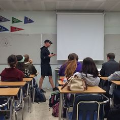 Jason Harper speaking about the hazards of social media to the AVID class at Casa Roble High School. #bechange #charactercombine #socialmedia #casaroblehighschool