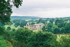 View of Bolton Abbey, Lower Wharfedale walk Domesday Book, Bolton Abbey, Great Walks, 12th Century, North Yorkshire, Acre, England, River, Outdoor