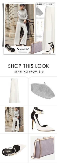 """""""Simplicity is beauty"""" by aurora-australis ❤ liked on Polyvore featuring Theory, GUESS and Sheinside"""