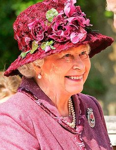The Queen is Head of State of the UK and 15 other Commonwealth realms / Social Vixen.And another fabulous chapeau!