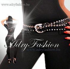 Fekete színű  köves női öv Belt, Accessories, Fashion, Belts, Moda, Fashion Styles, Fashion Illustrations, Jewelry Accessories