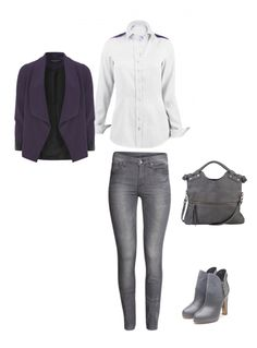 """Outfit, byMi Blouse """"Zillertal Berge"""""""