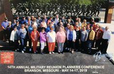 Branson, Missouri 14th Annual Military Reunion Planners Conference Branson Missouri, Visitors Bureau, Planners, Conference, Military, Army, Military Man, Address Books