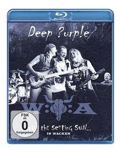 "Disco Blu-ray dei #DeepPurple intitolato ""From the setting sun... (in Wacken)""."