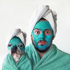 Recycle our luxurious towels by using them on pampering your pets! #SmallBusinesses #Humour #Cornwall