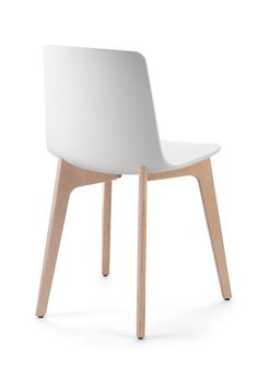 Lottus Wood Chair by Enea Contract