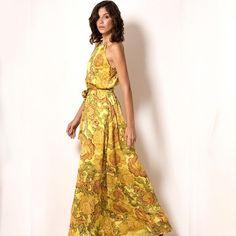VERÃO PARADISO  🌿O poder do long dress, que  garante toda feminilidade e charme à produção!#veraomissmano #fashion #exclusive