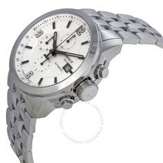 061f66998c7 Tissot T-Sport PRC 200 Automatic Chronograph White Dial Stainless Steel  Men s Watch T0554271101700