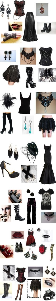 """""""Gothic"""" by jennaswings ❤ liked on Polyvore"""