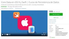 Coupon Udemy - Core Data en iOS 9 y Swift | Curso de Persistencia de Datos ($10 Only) (50% Off) - Course Discounts & Free