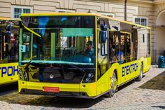 У Львові показали нові автобуси ЕЛЕКТРОН