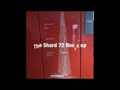 The fantastic views from the Shard, floors up) The Shard, Travel Videos, Days Out, Floors, Channel, London, Youtube, Home Tiles, Flats