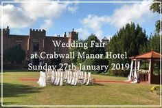 View details for wedding events including times and exhibitors. Hotel Wedding, Wedding Events, Weddings, Wedding Fayre, Wedding Ideas, 5th September, Spa Packages, Free Entry, Chester