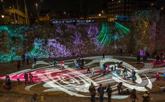 WestQuay Lights – Southampton's Festival of Light – Crystal Contrast
